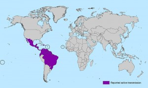 The spread of Zika