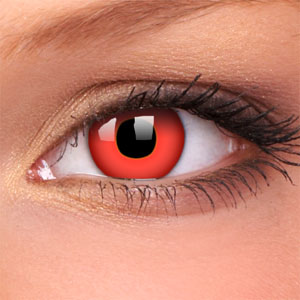 coloured contacts