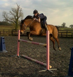 Our Chase me Charlie winning jump